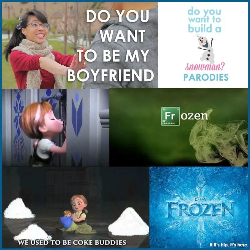 best cute and creepy Frozen Parodies