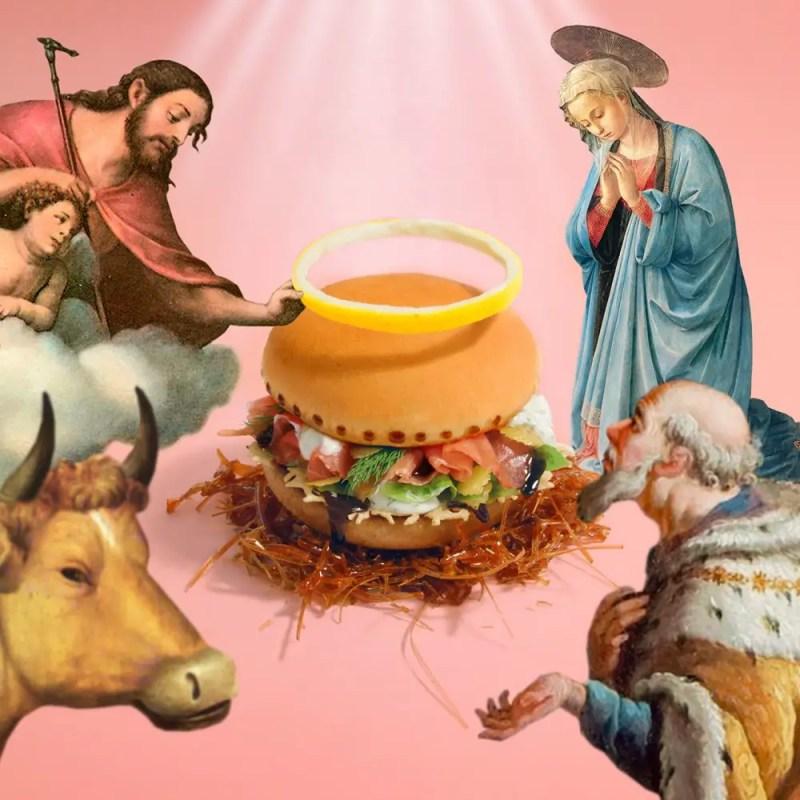 The divine burger