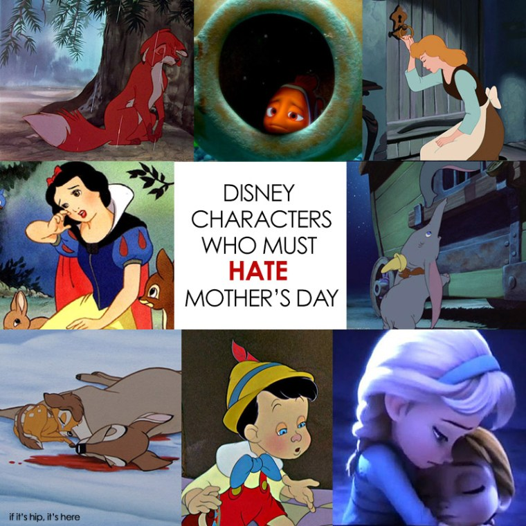 disney characters who must hate mother's day
