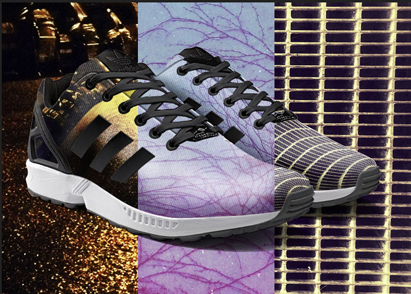 Your Own Photos or Artwork Printed On Adidas ZX Flux With A Phone ... ca40fc52b215