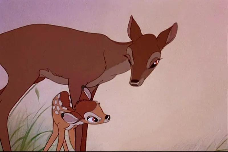 bambi and mom 1942