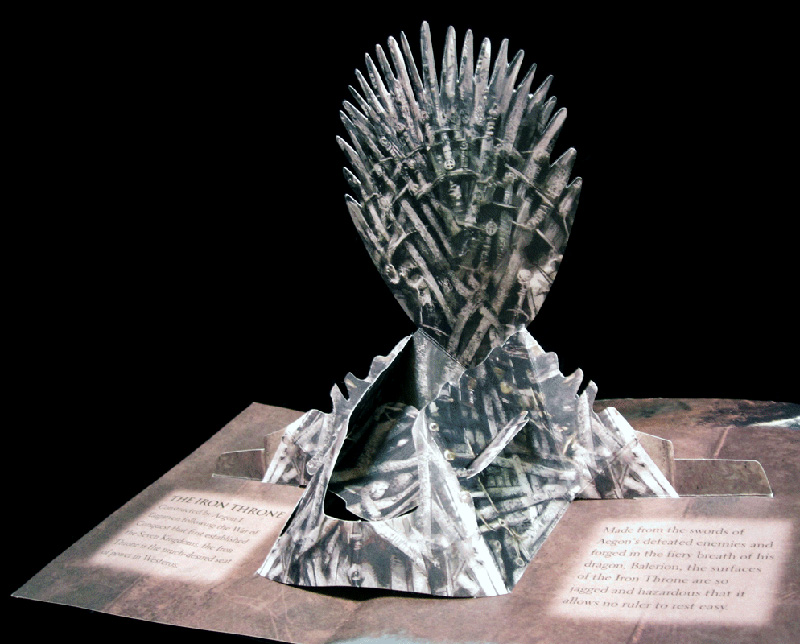 GoT Pop Up Iron Throne IIHIH