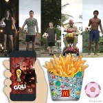 New Spot, App and French Fry Boxes. Marvelous McDonald's Marketing for the 2014 World Cup.