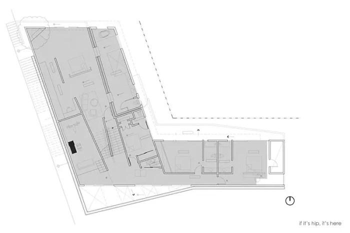 Mulholland Home Domaen lower floor plans IIHIH