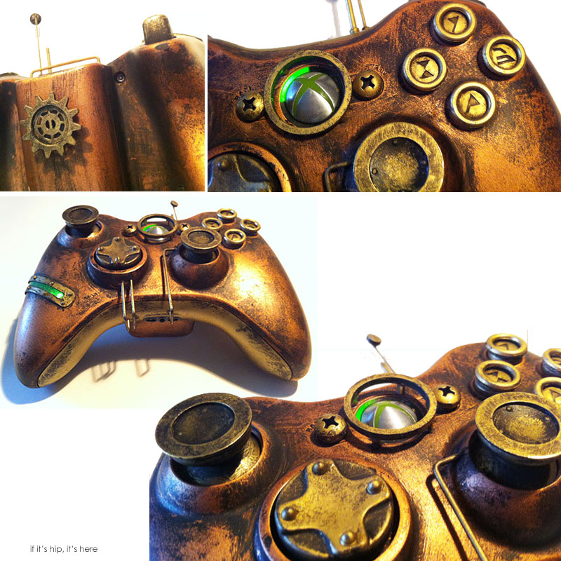 Steampunk 360X Box controller Devin Smith IIHIH