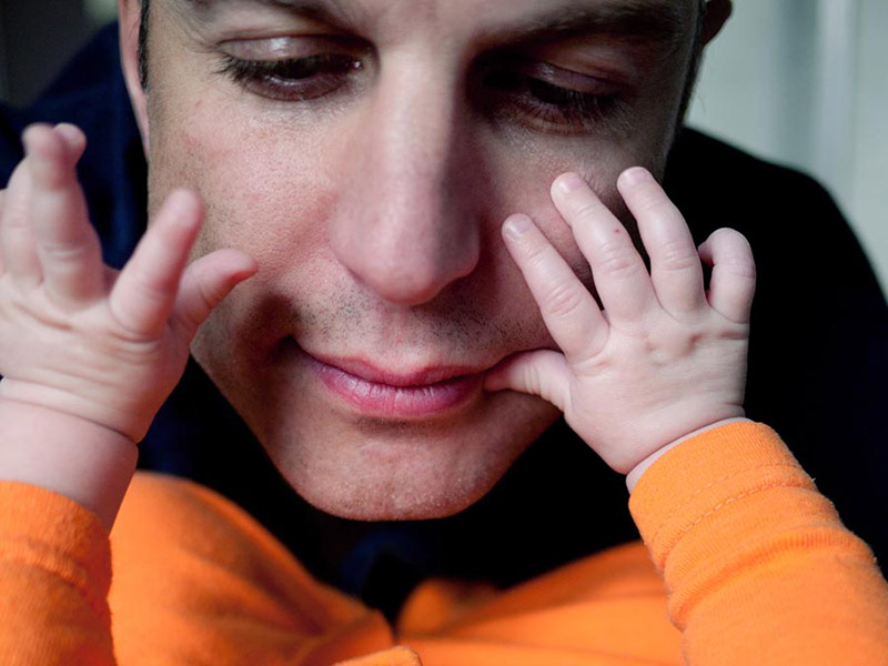 Fatherhood photo essays by Phillip Toledano