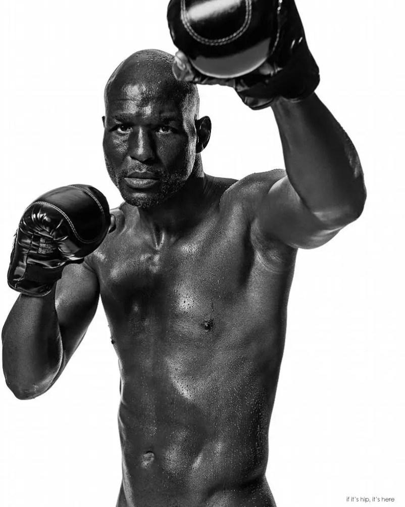 Boxer Bernard Hopkins by Max Vadukul IIHIH