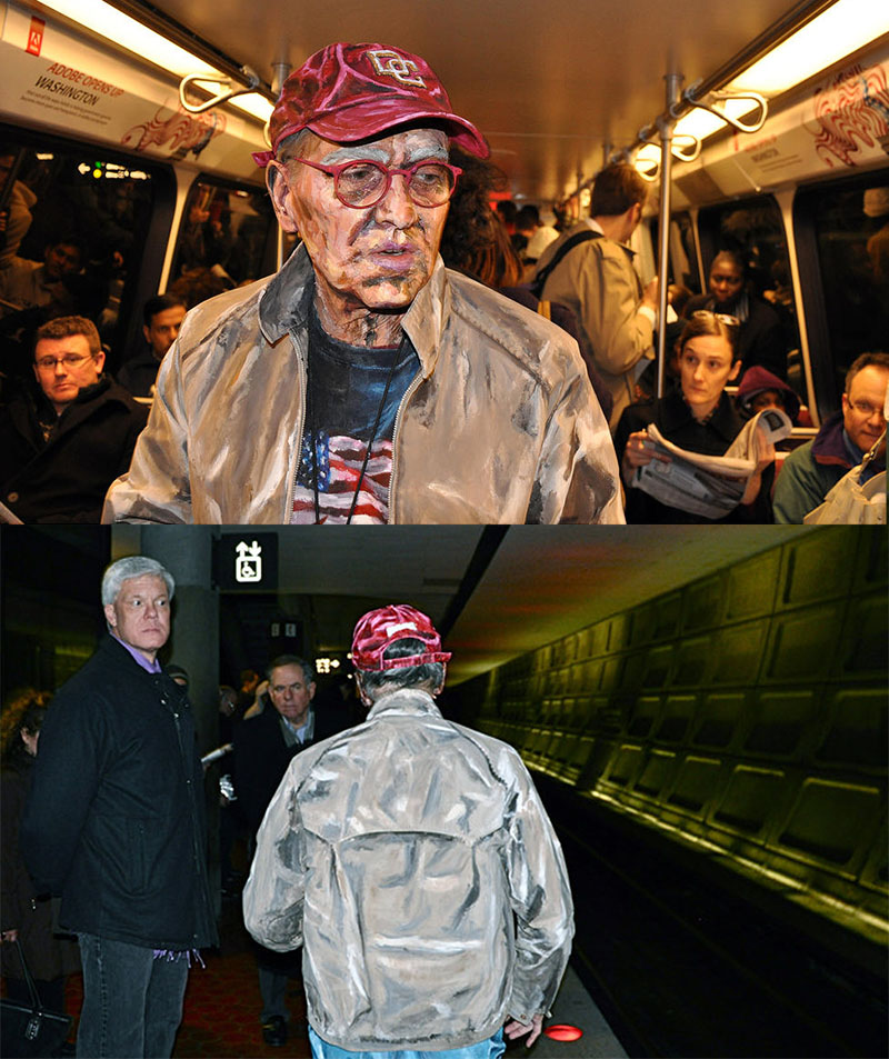 Transit - front and back Alexa Meade IIHIH