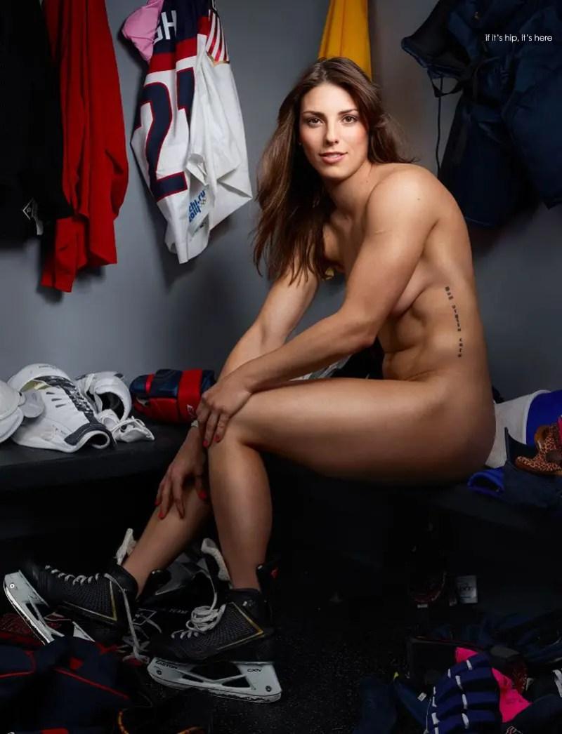 US National Hockey Team forward Hilary Knight by Martin Schoeller IIHIH