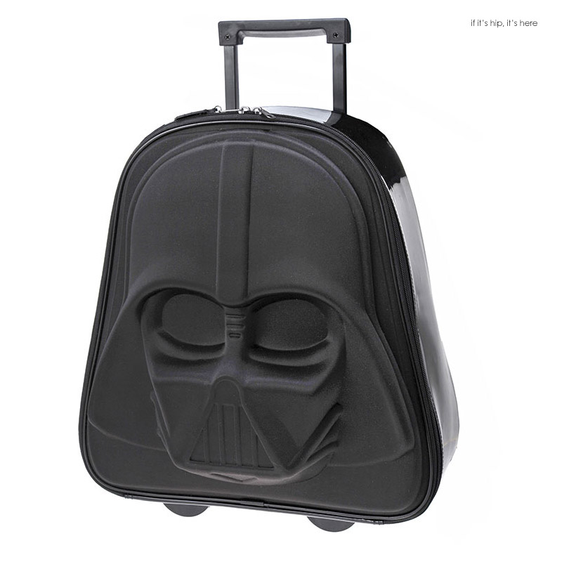 The Darth Vader Wheeled Suitcase Is A Star Wars Fan S
