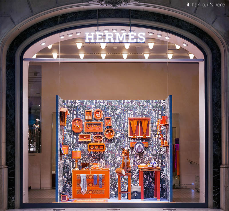 hermes foxes den zim and zou