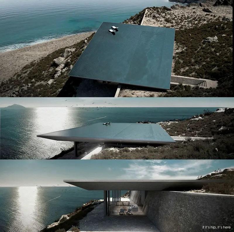 rimless swimming pool Mirage house