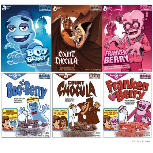 Read more about the article Boo Berry, Franken Berry and Count Chocula Get Facelifts by DC Comic Artists.