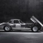 Jaguar Reveals The 'New' Lightweight E-Type, 6 Cars Hand-built To Original 1964 Specs.