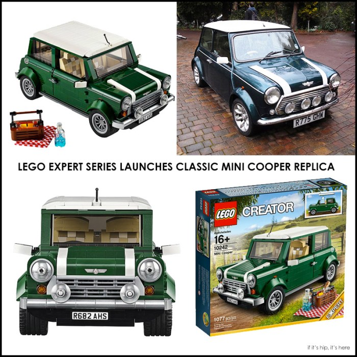 LEGO MINI Cooper Mark VII QUAD HERO IIHIH