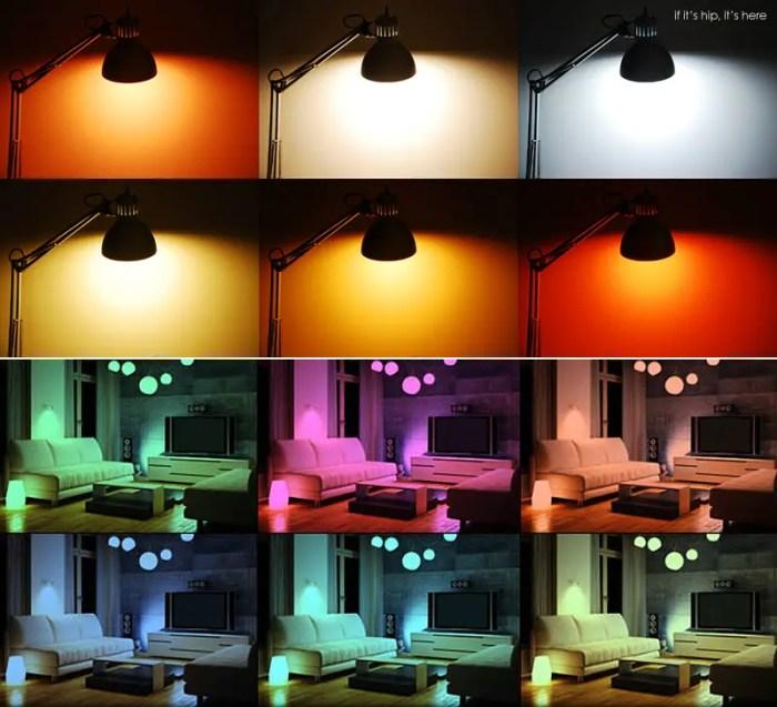 LIFX color change examples IIHIH