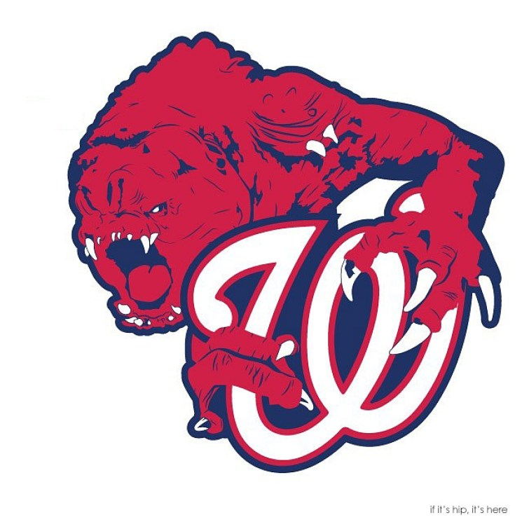 MLB x StarWars series - From the depths of Jabbas Palace; The Washington Rancors IIHIH