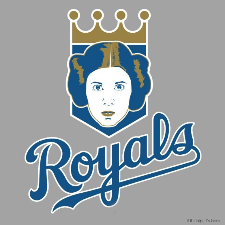 MLB x StarWars series - Princess Leia Royals IIHIH