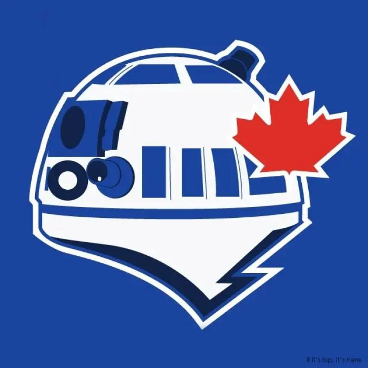 MLB x StarWars series - Toronto R2-D2s IIHIH