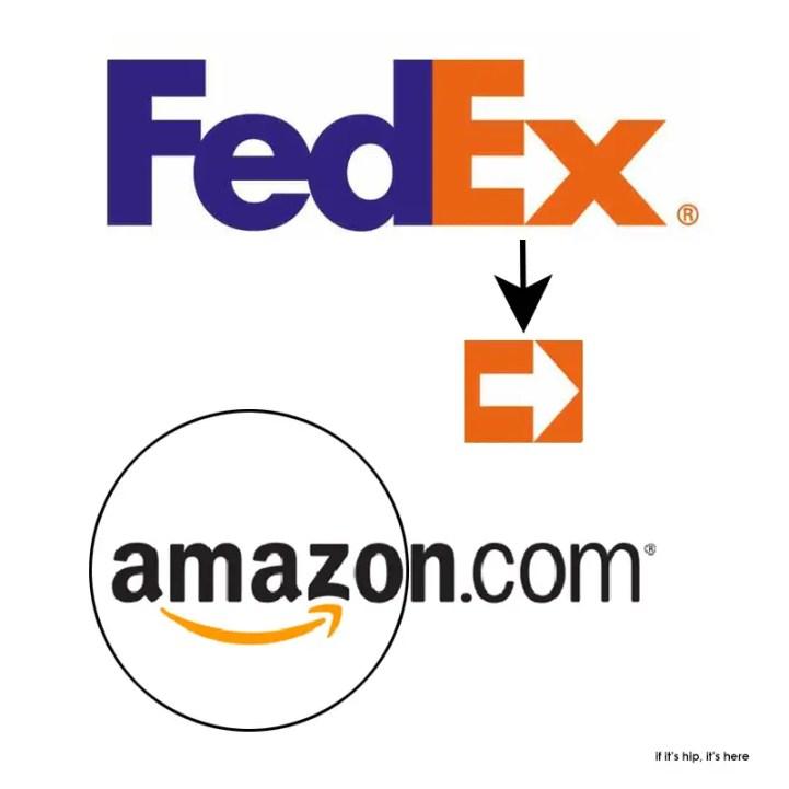 fed ex and amazon logos explained IIHIH