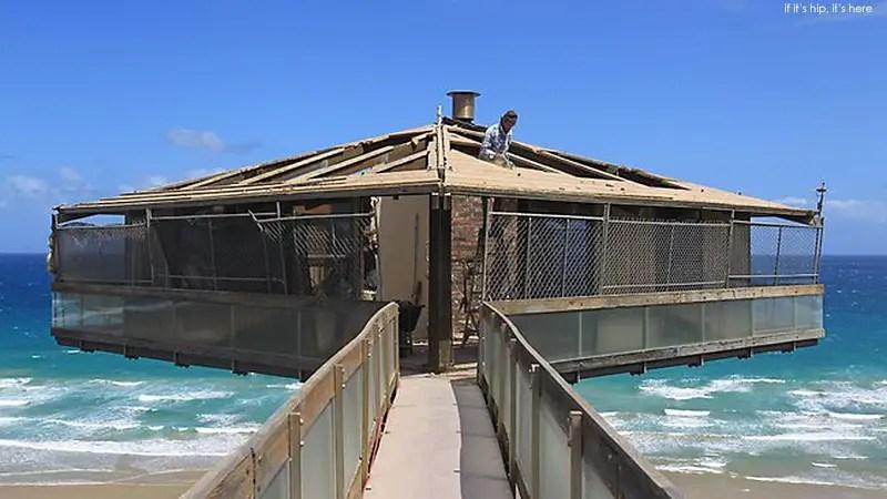 pole house undergoing reno2 IIHIH