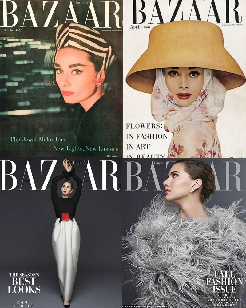 richard avedon and Michael avedon Harper's Bazaar covers IIHIH