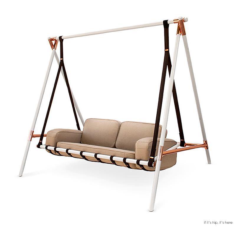 The Fable Swing Is A Chic Version Of Grandma S Ugly Porch