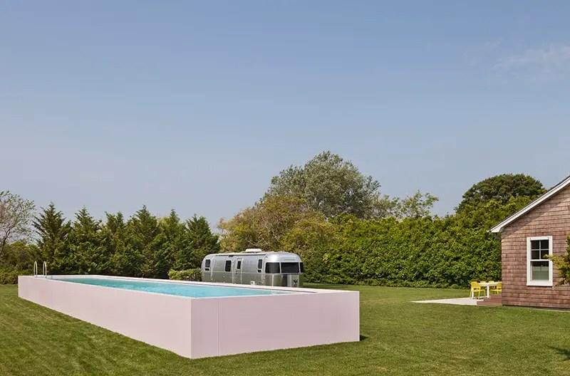 A pink corian swimming pool for ferris architecture 39 s surf - Dream interpretation swimming pool ...