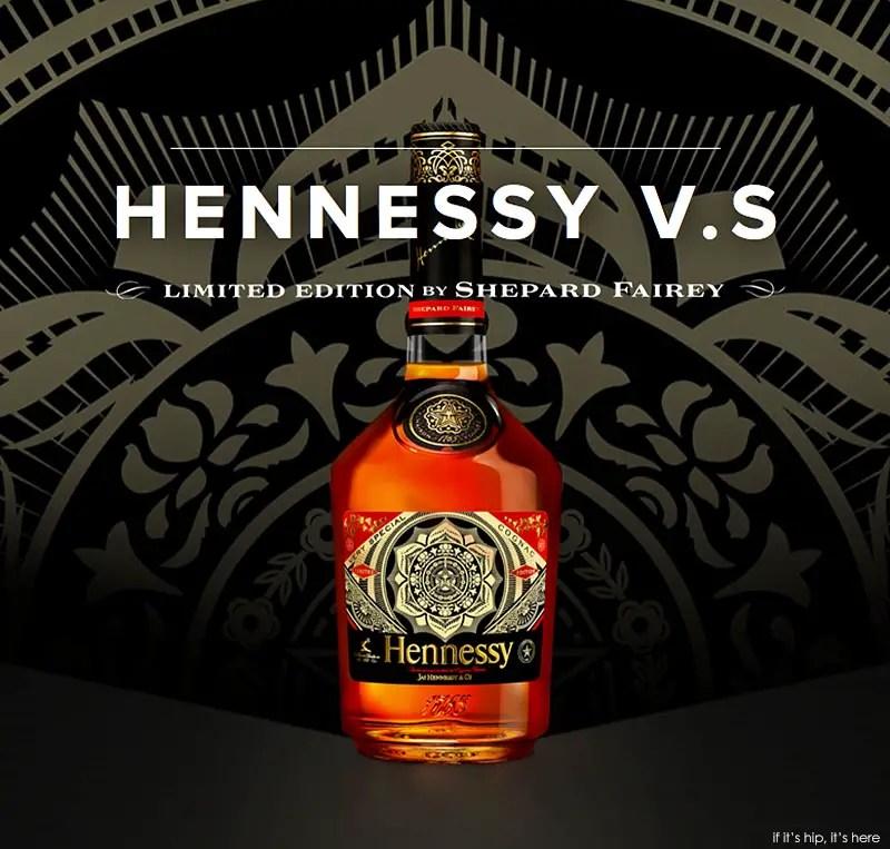 hennesey cognac bottle by shepard fairey0 IIHIH