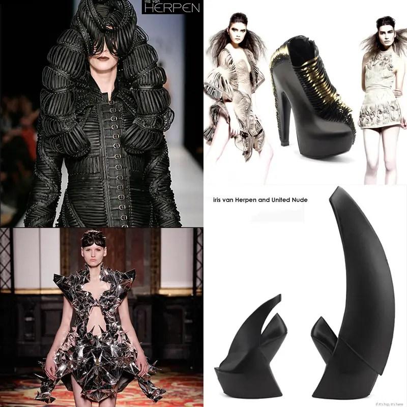 iris van herpen fashions and shoes ganged IIHIH