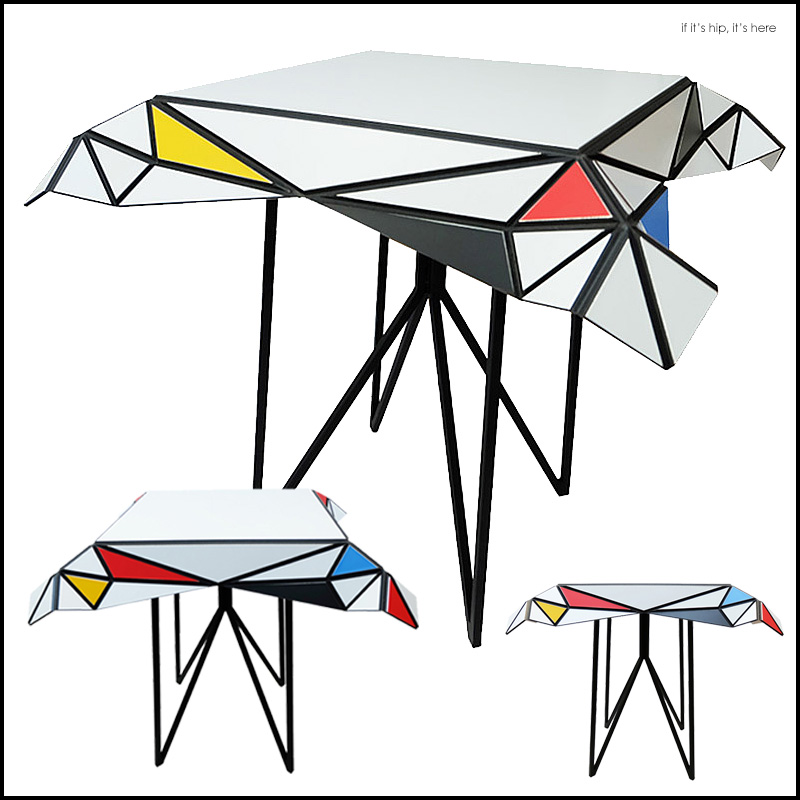 Mondriaan Table by Patrick Beyaert