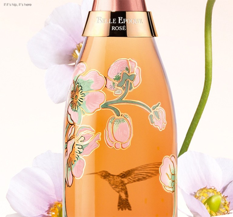 Limited Edition Hummingbird Bottle for Perrier Jouet