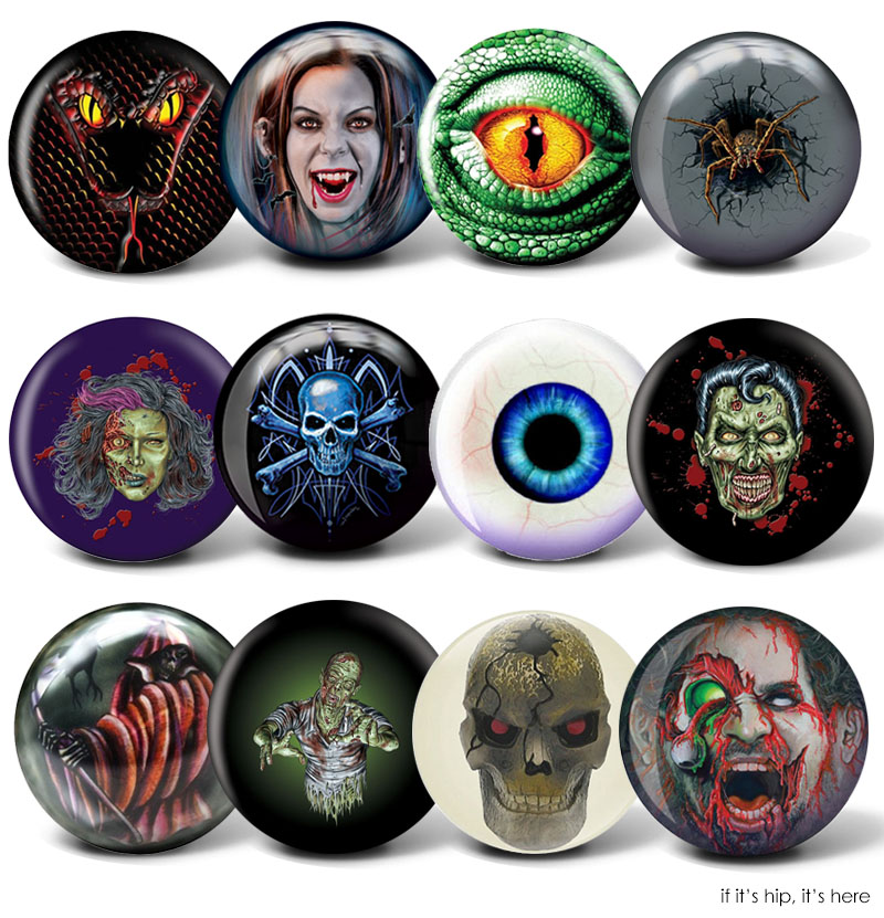 Creepy Bowling Balls