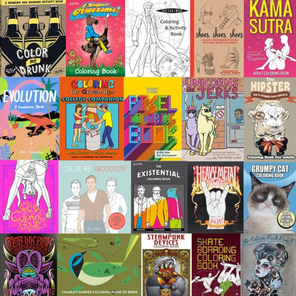 The Coolest Coloring Books For Grown-Ups Part IV – 40 New ...