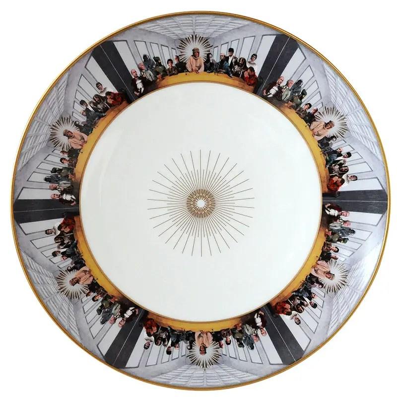 Peter OToole as Lawrence of Arabia bernardaud plate 800px