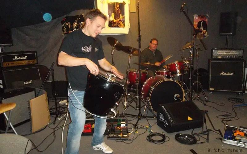 Scratchophone garage band