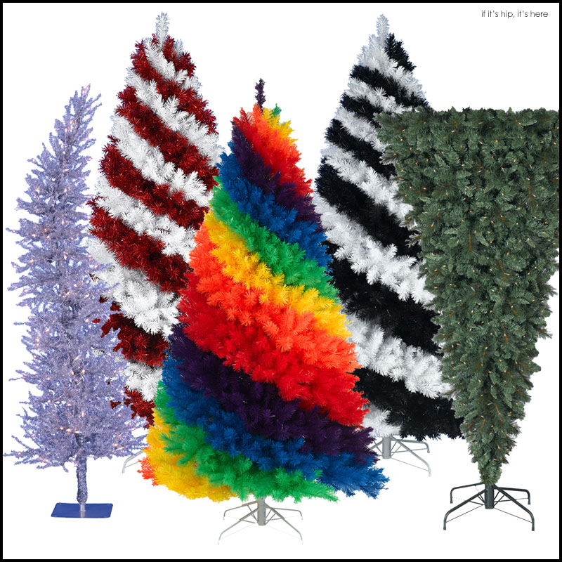 Rainbow Christmas Trees: Totally Trippy Christmas Trees For The Holidays.