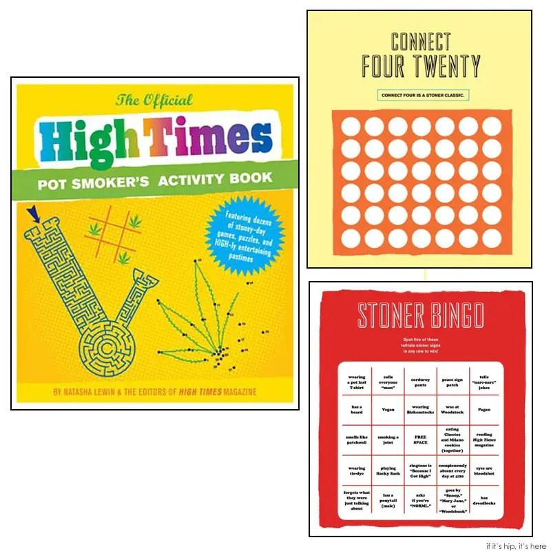 official high times activity book IIHIH