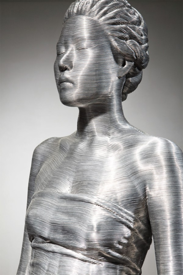 Aluminum Wire Wrapped Figurative Sculptures Park
