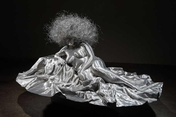 wire wrapped fiberglass sculptures