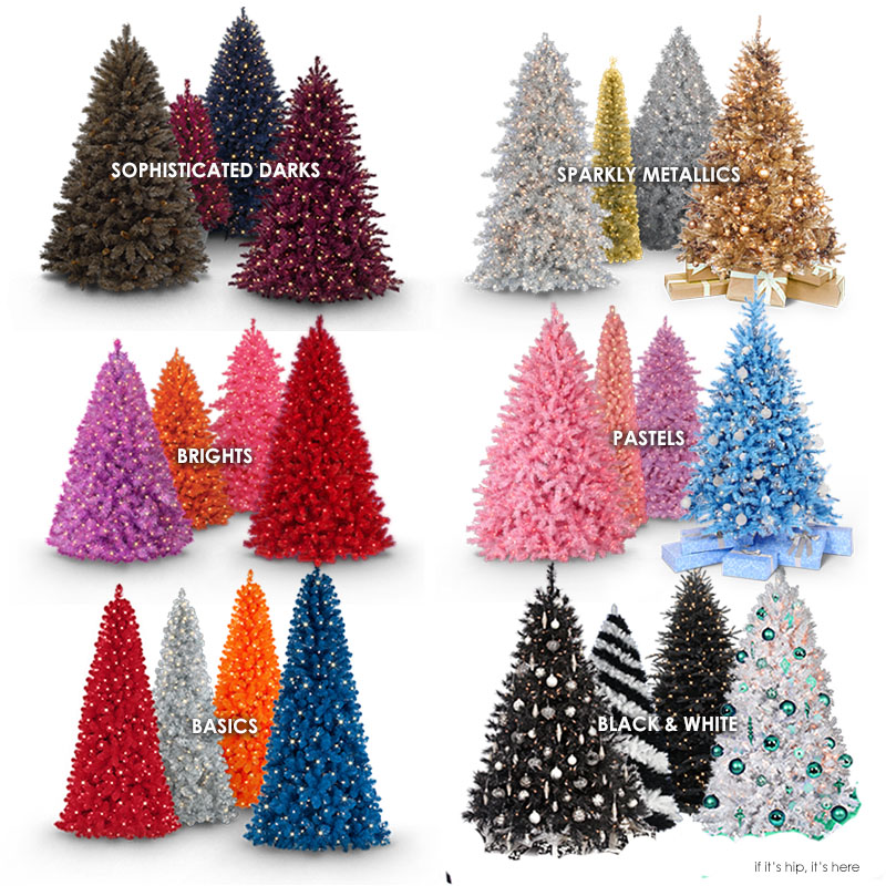 Totally Trippy Christmas Trees For The Holidays. - if it's hip ...