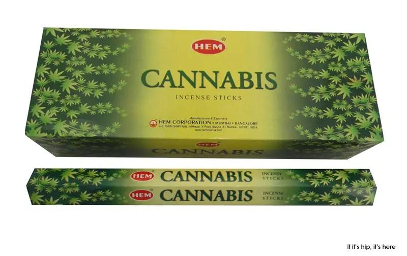 Hem Cannabis incense sticks and cones IIHIH