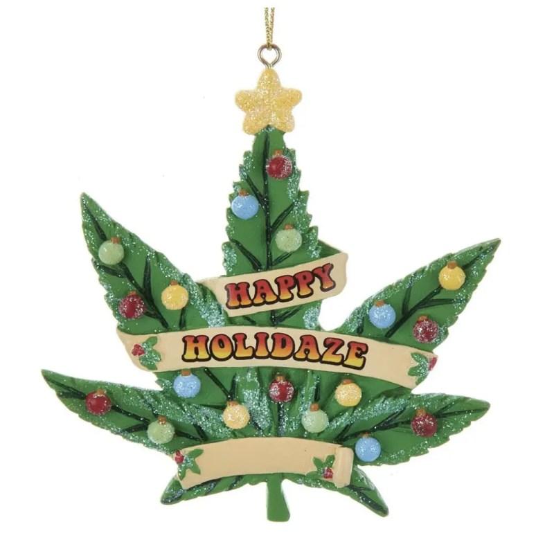 happy holidaze ornament