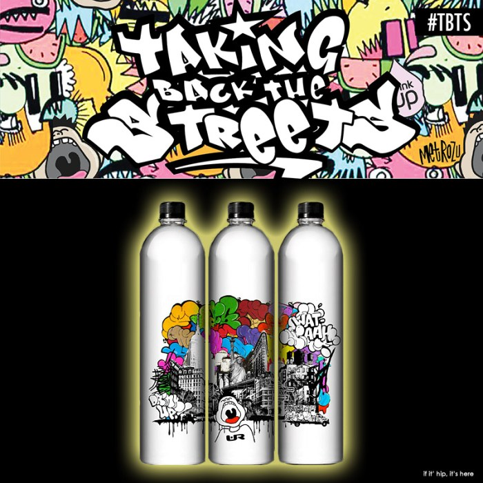 Wat-aah Artist Designed Bottles