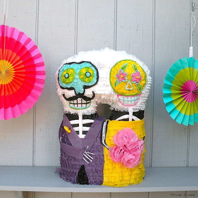 day of the dead pinatas