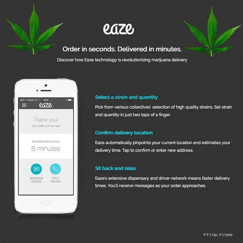 eaze marijuana delivery app IIHIH