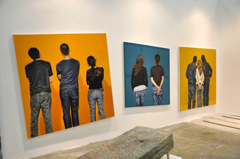 in gallery