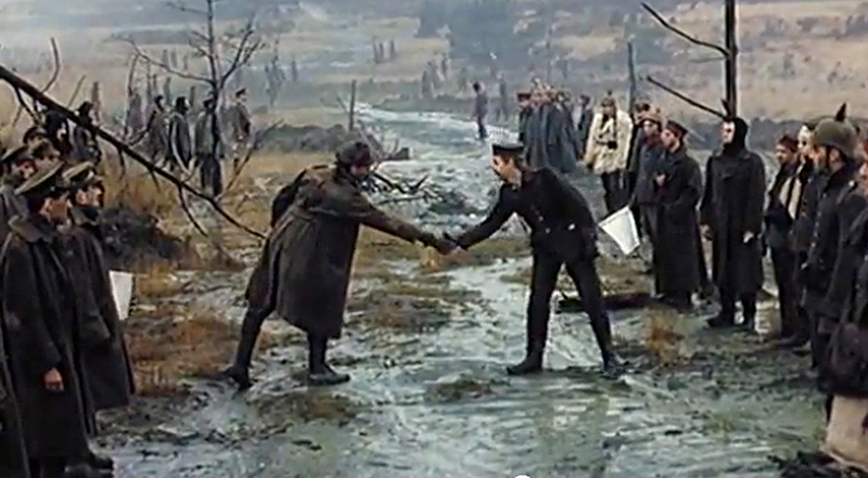 Sainsbury's Uses 'The Christmas Truce' To Sell Emotion & Chocolate This Holiday. – if it's hip ...