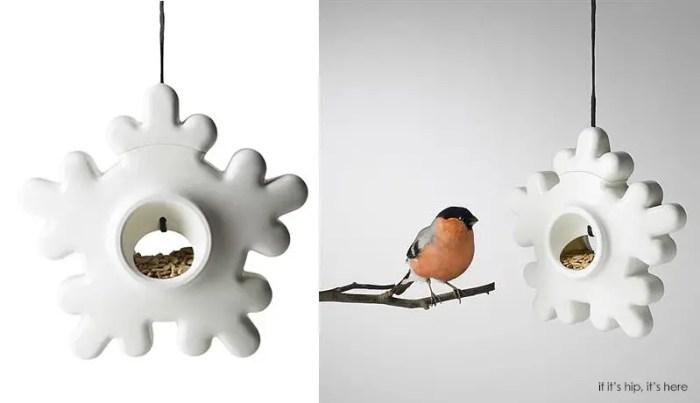 Lumi snowflake birdfeeder IIHIH
