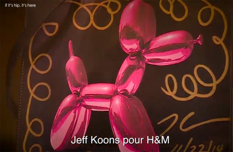 jeff koons for H&m1